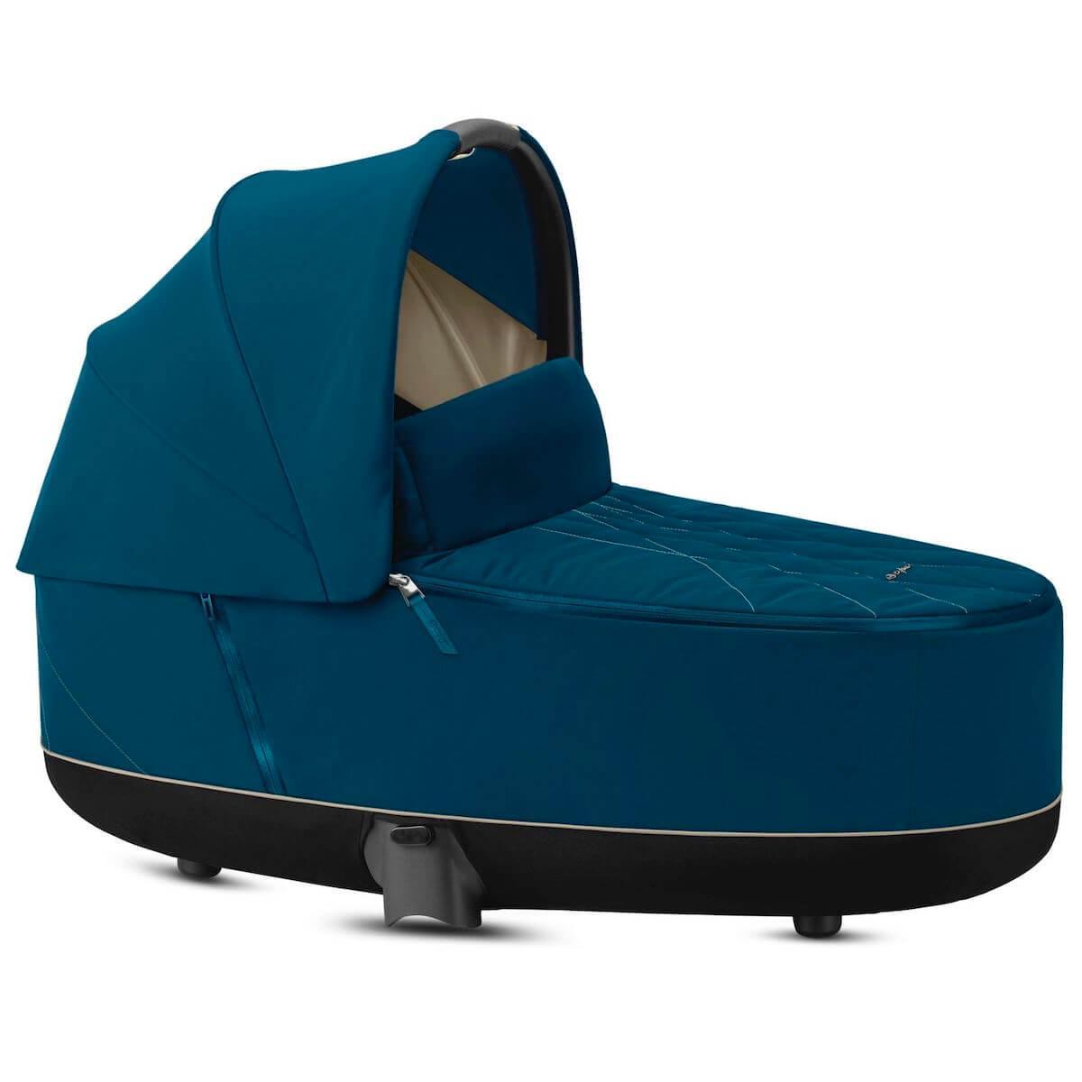 Kinderwagenaufsatz luxe PRIAM Cybex Mountain Blue