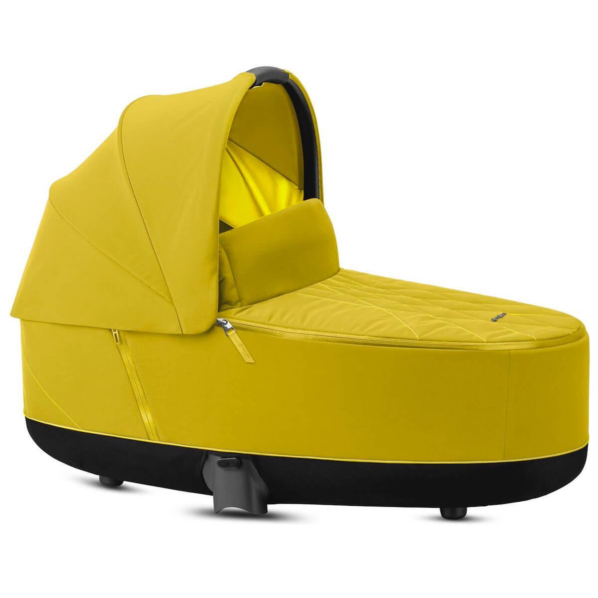 Kinderwagenaufsatz luxe PRIAM Cybex Mustard Yellow