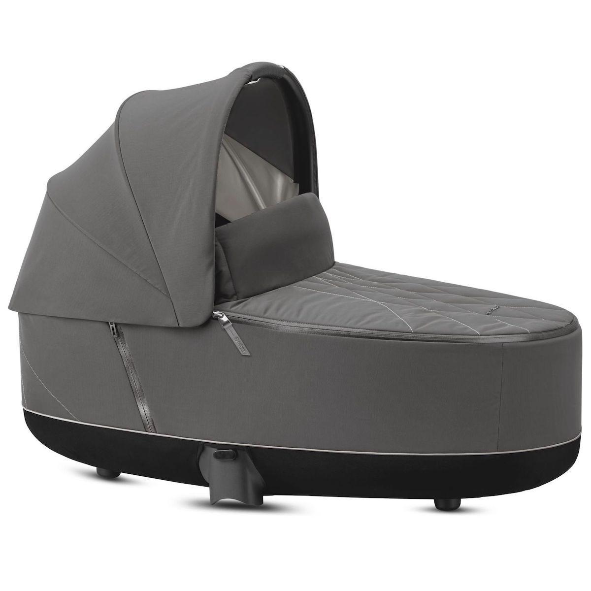 Kinderwagenaufsatz luxe PRIAM Cybex Soho Grey