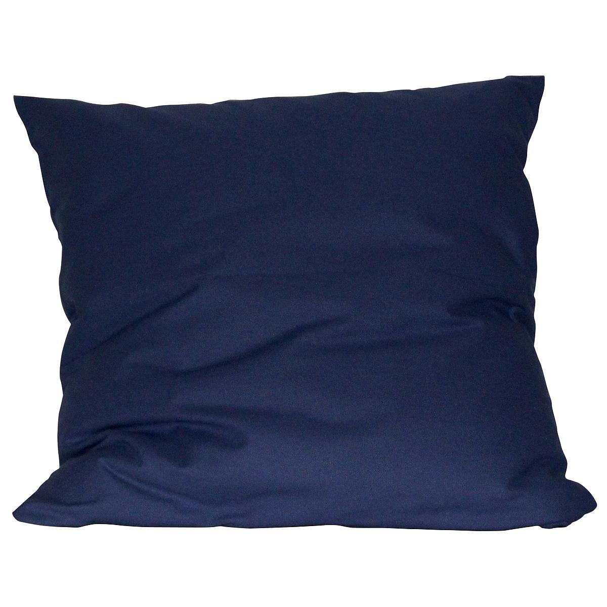 Kissen gross 60x60 DELUXE de Breuyn in dunkelblau