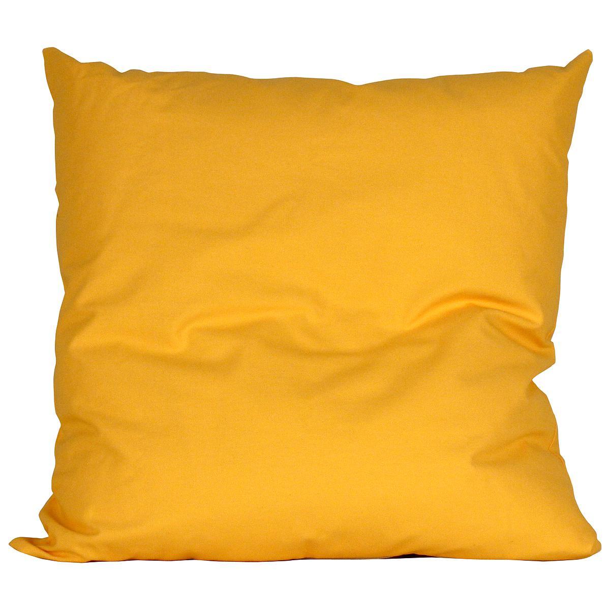 Kissen gross 60x60 DELUXE de Breuyn in gelb
