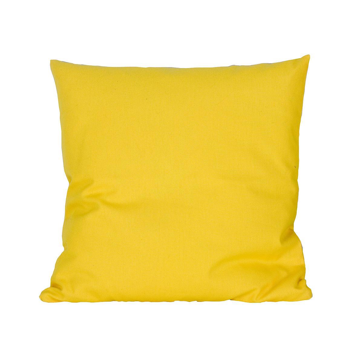 Kissen klein 40x40 DELUXE de Breuyn in gelb