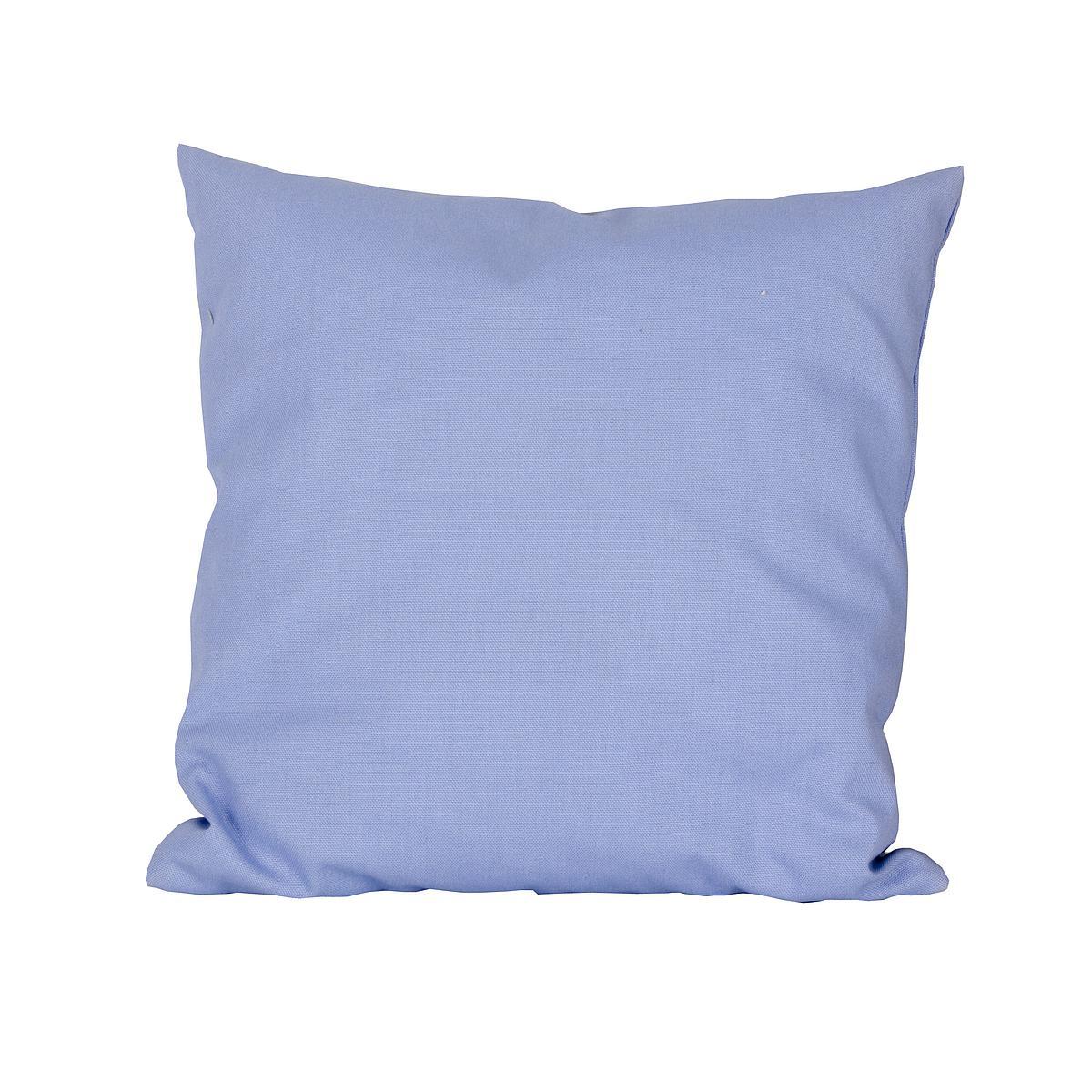 Kissen klein 40x40 DELUXE de Breuyn in hellblau