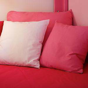 Kissen klein 40x40 DELUXE de Breuyn in rosa