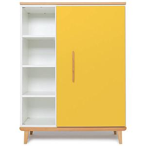 Kleiderschank 120cm 1-türig NADO sunshine yellow