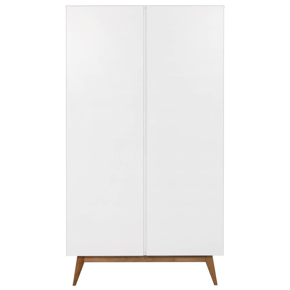 Kleiderschrank 110x198cm TRENDY Quax weiß