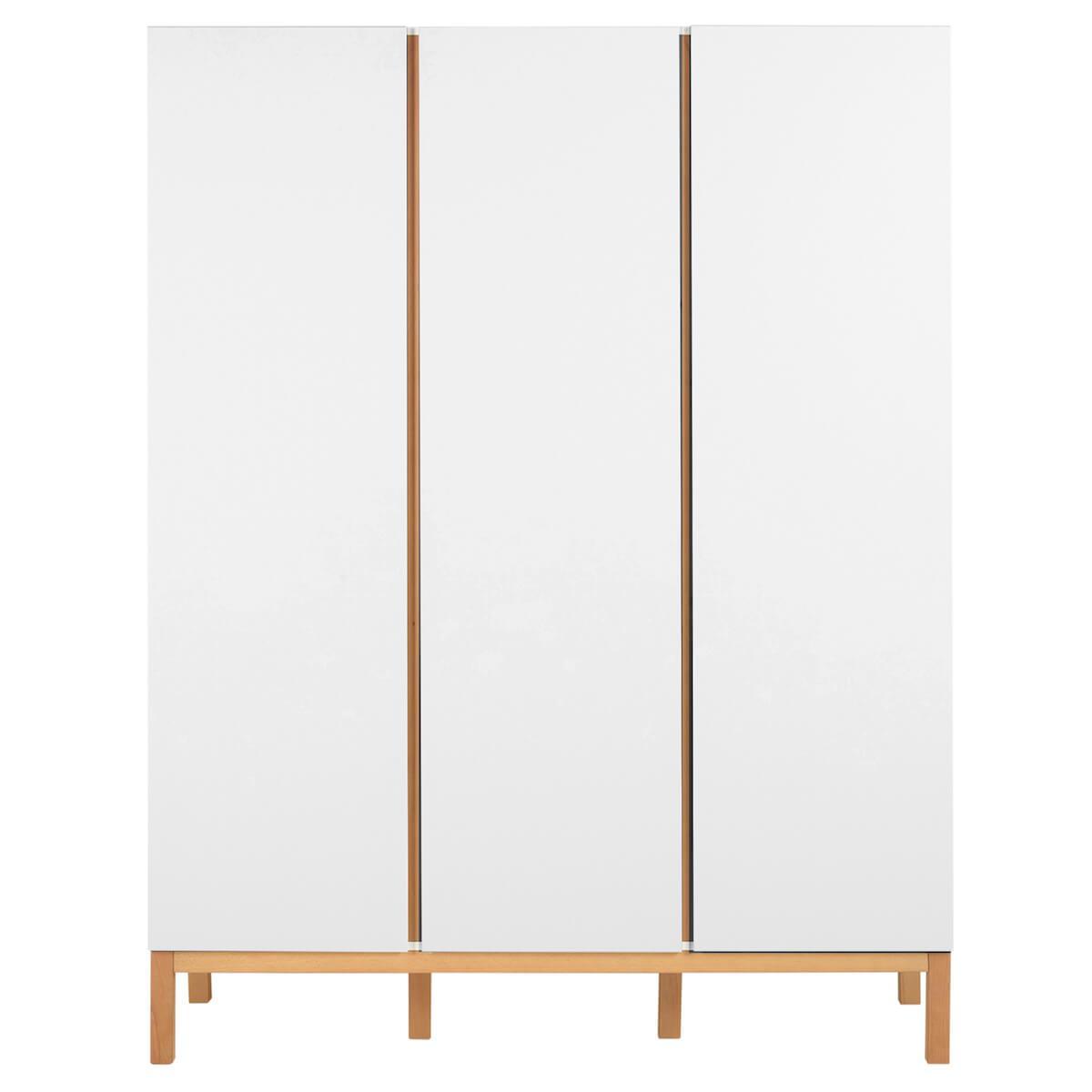 Kleiderschrank 152x198cm INDIGO Quax weiß