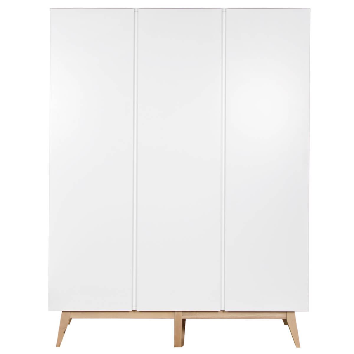 Kleiderschrank 152x198cm TRENDY Quax weiß