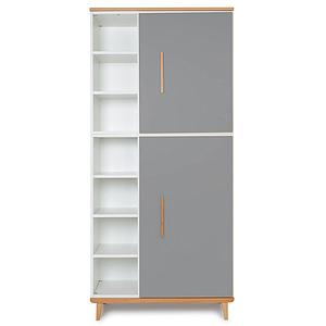 Kleiderschrank 198cm 2-türig NADO slate grey