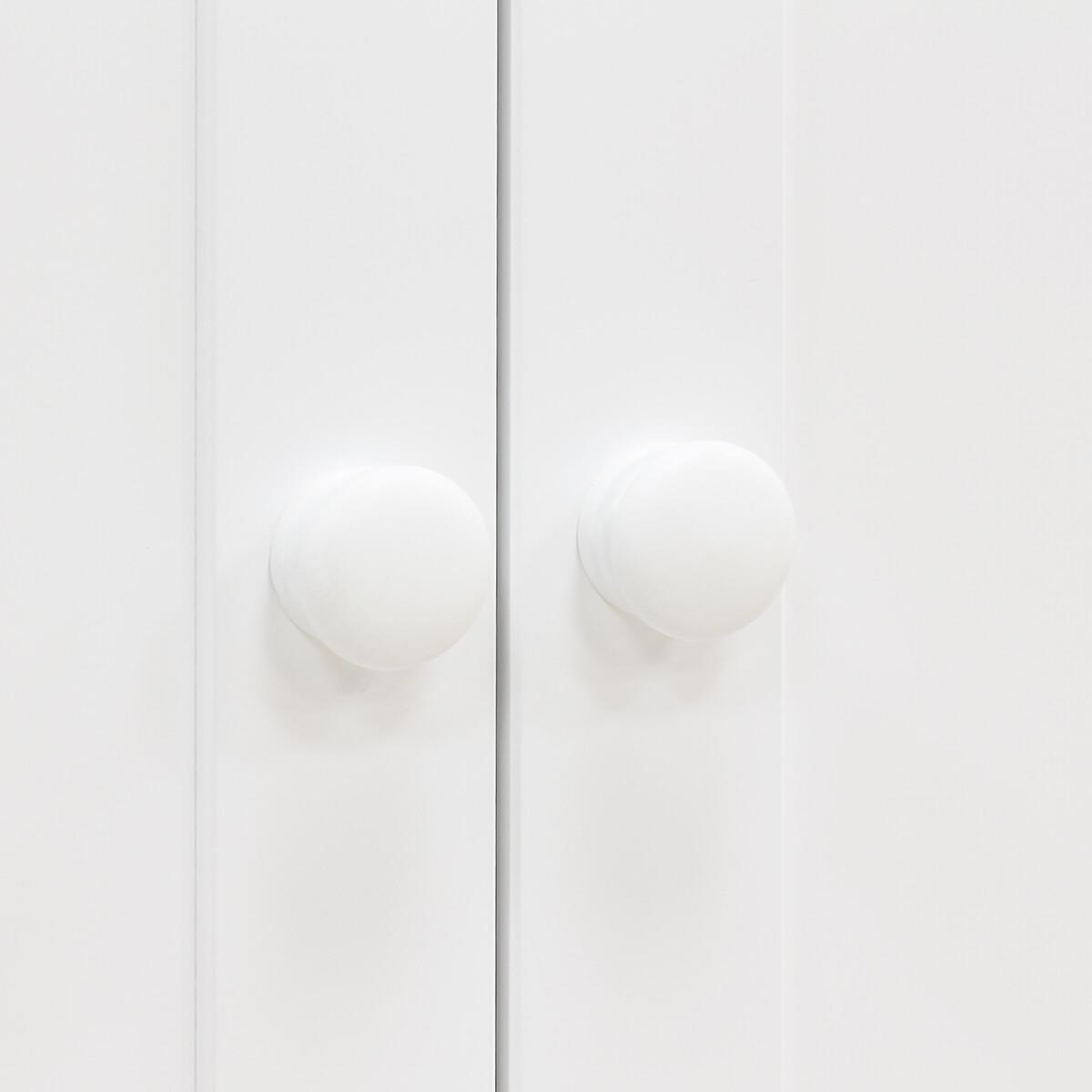 Kleiderschrank 2 Türen BELLE Bopita weiß