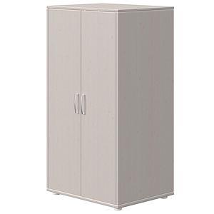 Kleiderschrank 2 Türen CLASSIC Flexa grey washed