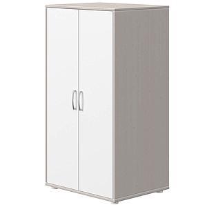 Kleiderschrank 2 Türen CLASSIC Flexa weiß-grey washed