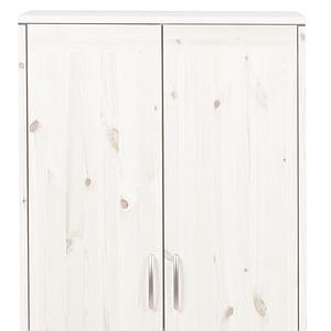 Kleiderschrank 2 Türen CLASSIC Flexa whitewash