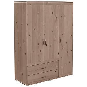 Kleiderschrank 3 Türen-2 Schubladen CLASSIC Flexa terra