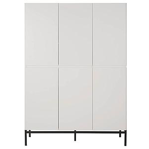 Kleiderschrank 6 Türen HAVANA Quax weiß