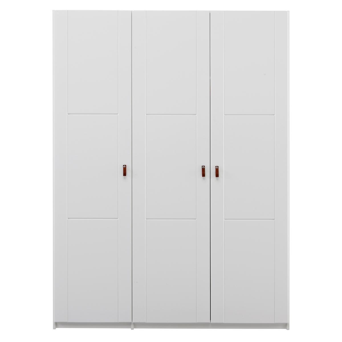 Kleiderschrank Türen-Einlegeböden 150cm Lifetime weiß