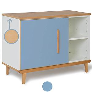 Kleinmöbel 1-türig NADO By A.K. capri blue