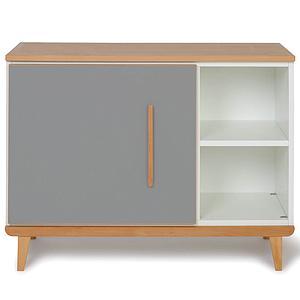 Kleinmöbel 1-türig NADO By A.K. slate grey