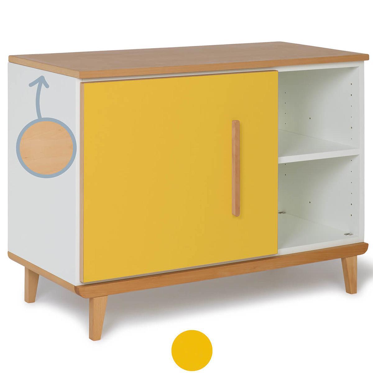 Kleinmöbel 1-türig NADO By A.K. sunshine yellow