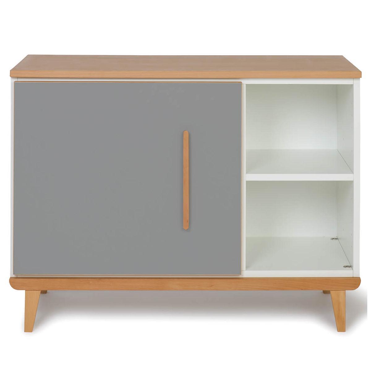 Kleinmöbel 1-türig NADO slate grey