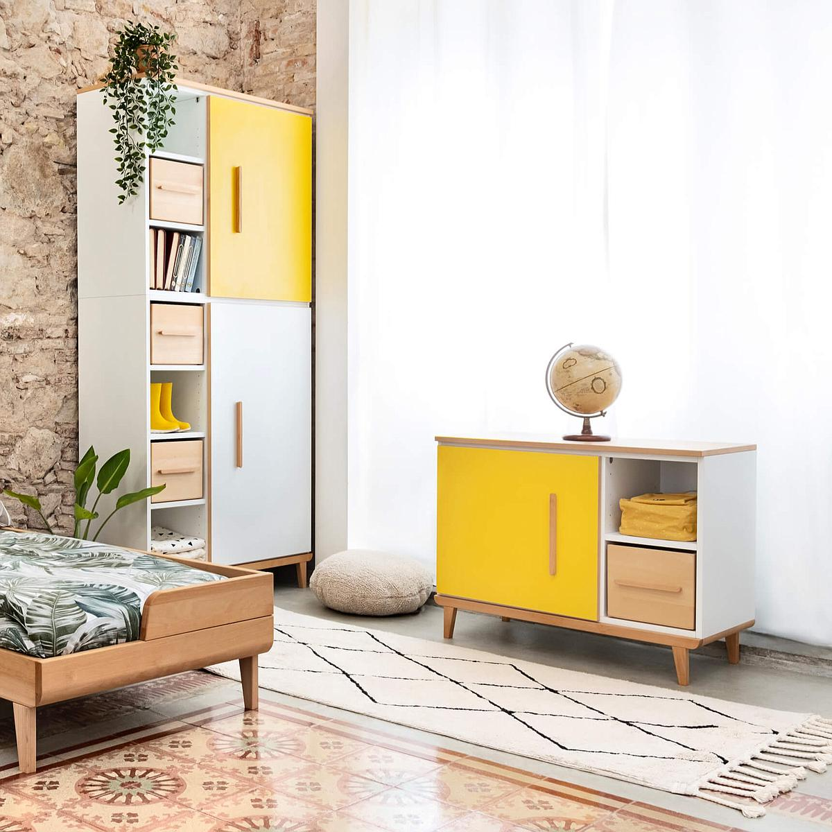 Kleinmöbel 1-türig NADO sunshine yellow