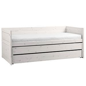 Kojenbett + Ausziehbett 90x200cm Lifetime whitewash