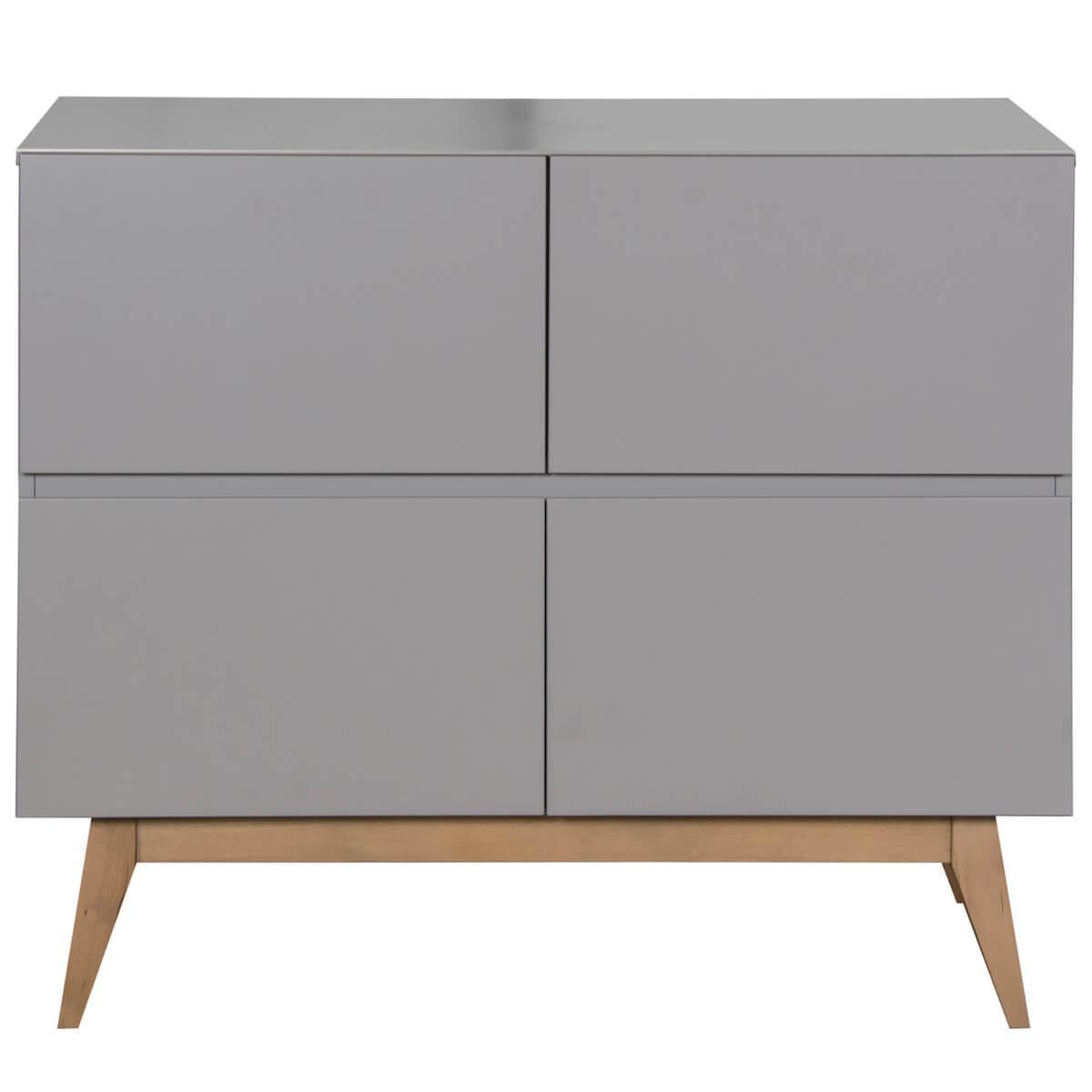 Kommode 110x90cm TRENDY Quax griffin grey