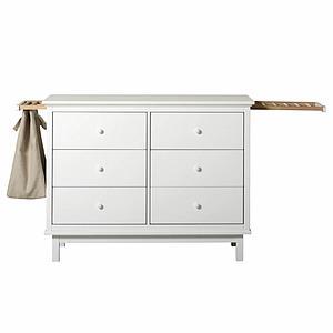 Kommode 6 Schubladen SEASIDE Oliver Furniture weiß
