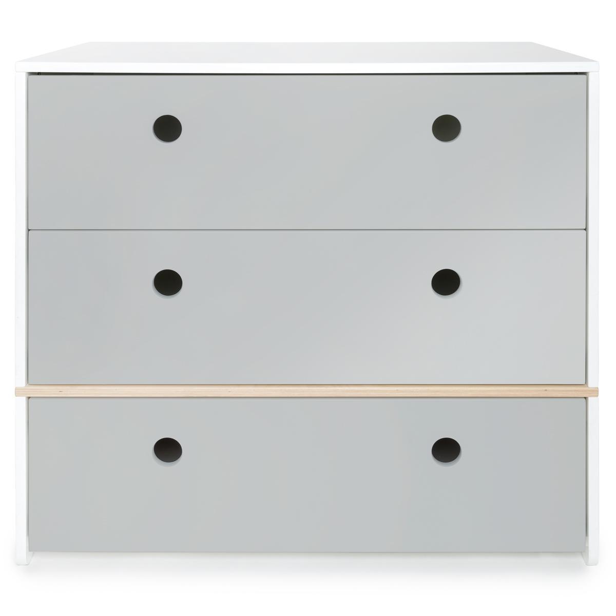 Kommode COLORFLEX Schubladen Farben pearl grey