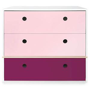 Kommode COLORFLEX Schubladen Farben sweet pink-sweet pink-plum