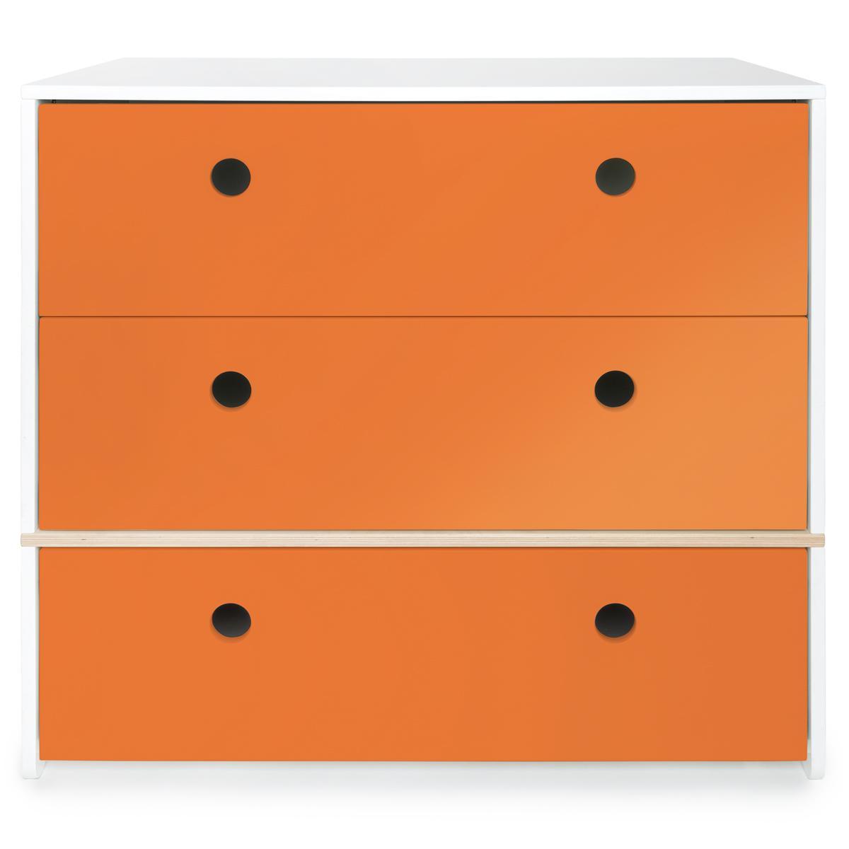 Kommode COLORFLEX Schubladen pure orange