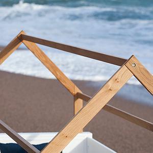 Liege-Dach bodentief-Fallschutz hoch KASVA Buche massiv weiß-lackiert Eiche furniert-geölt