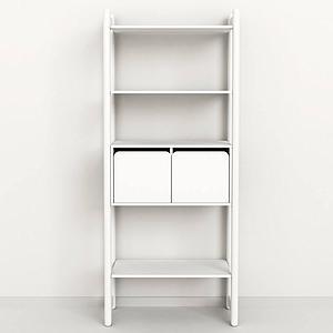 Maxi C Regal + Kommode mit 2 Schubladen + 3 Böden 189cm SHELFIE  by Flexa weiß