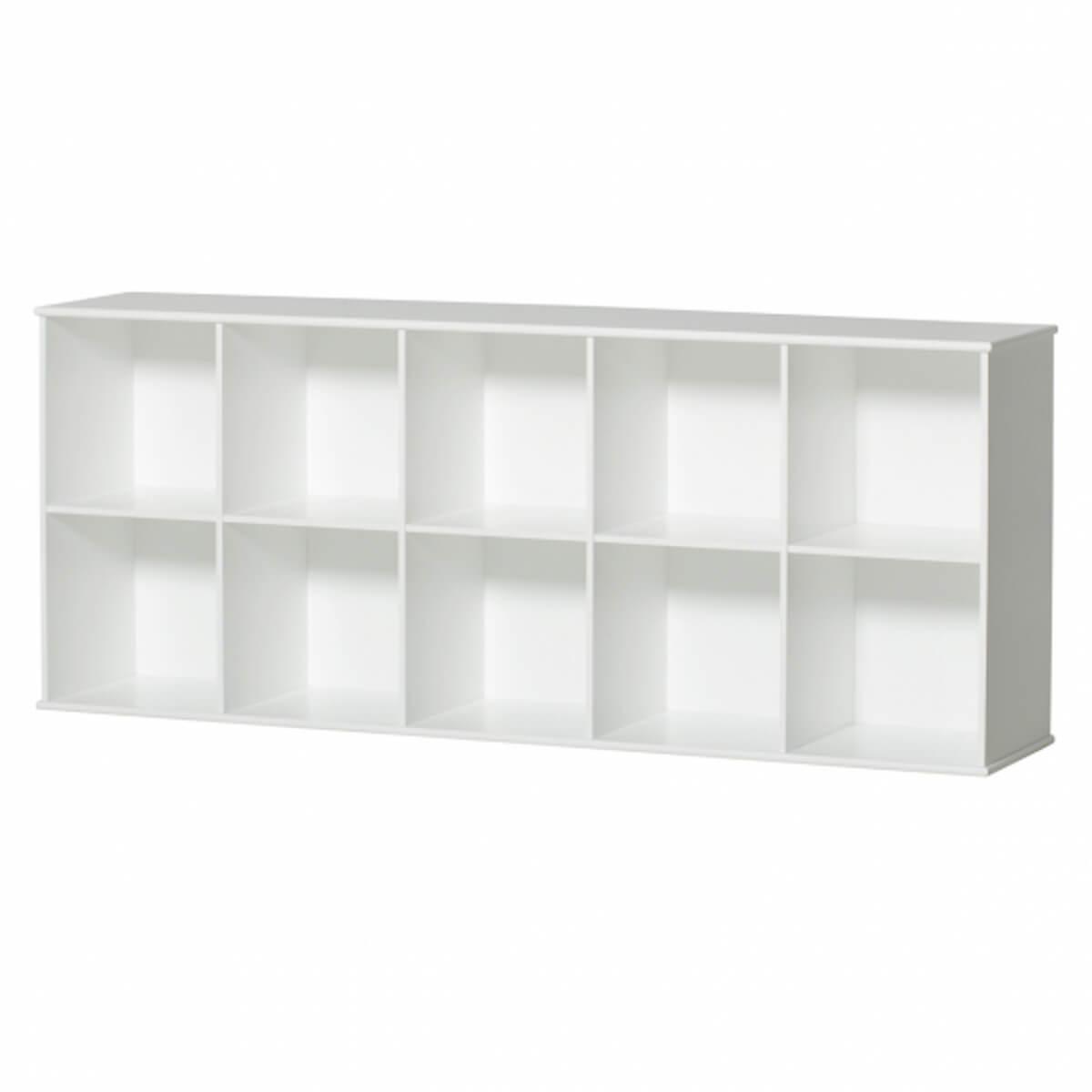 Möbel-Bank 174x78cm WOOD Oliver Furniture weiß