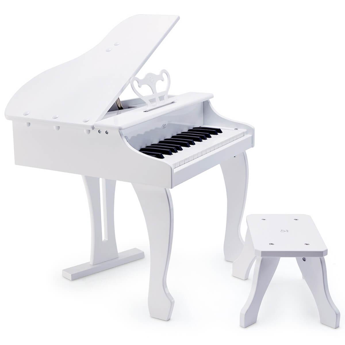Musikinstrument DELUXE GRAND PIANO Hape white