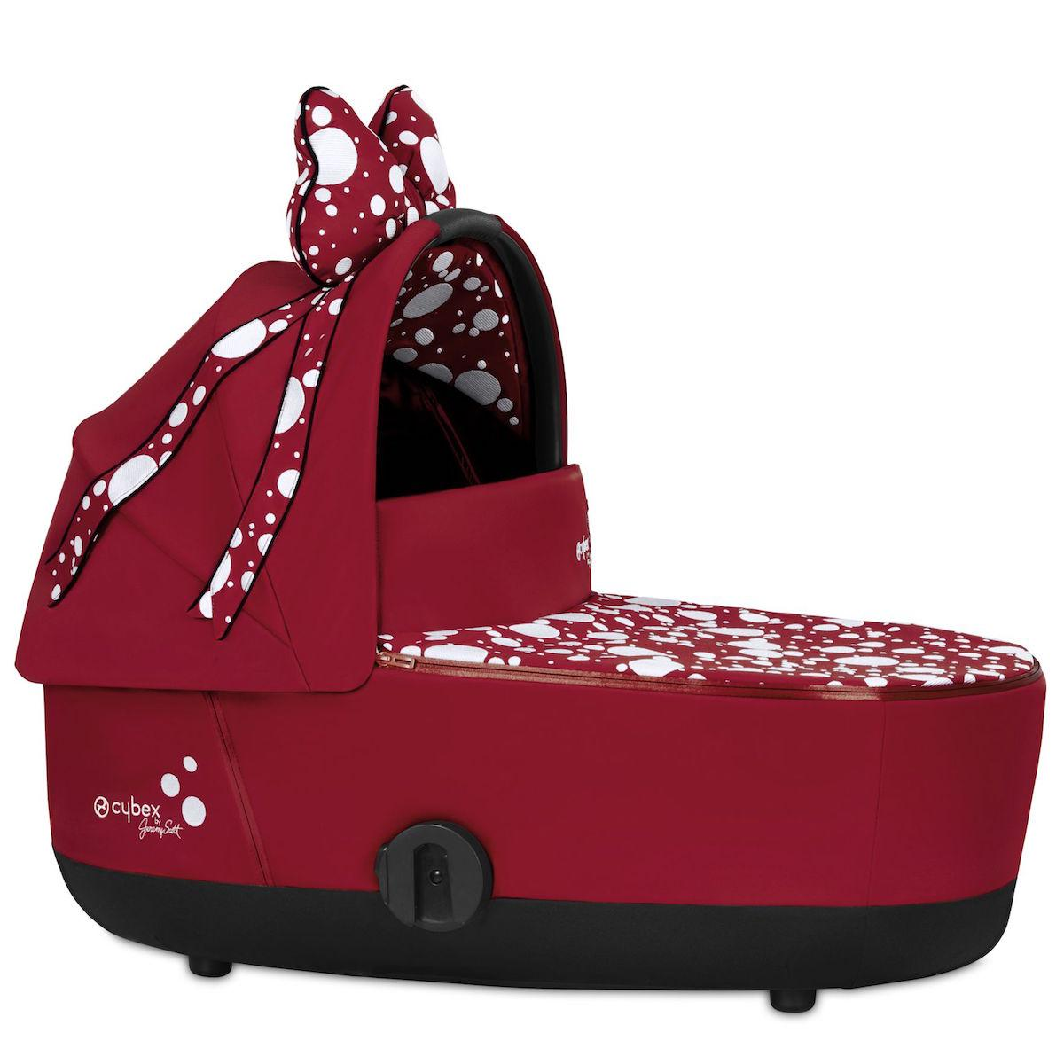 Nacelle luxe MIOS Cybex Petticoat Red Cybex dark red
