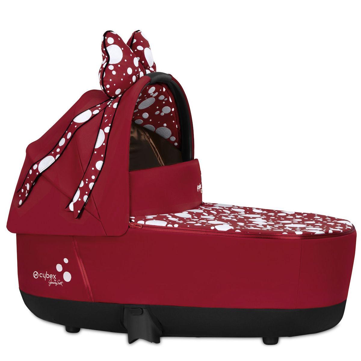 Nacelle luxe PRIAM Cybex Petticoat Red Cybex dark red