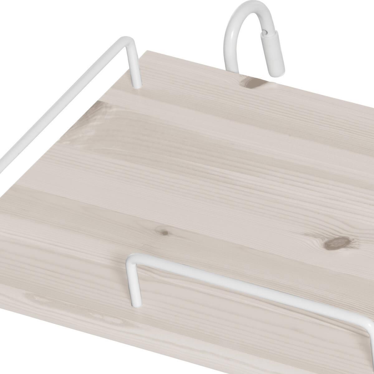 Nachttisch zum Einhängen CLASSIC by Flexa whitewash