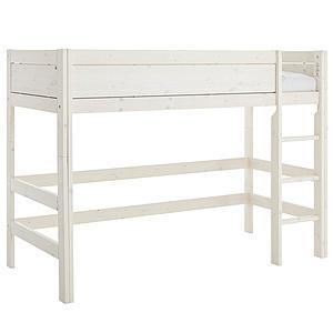 Niedriges Spielbett 90x200cm mit Rollboden Lifetime whitewash