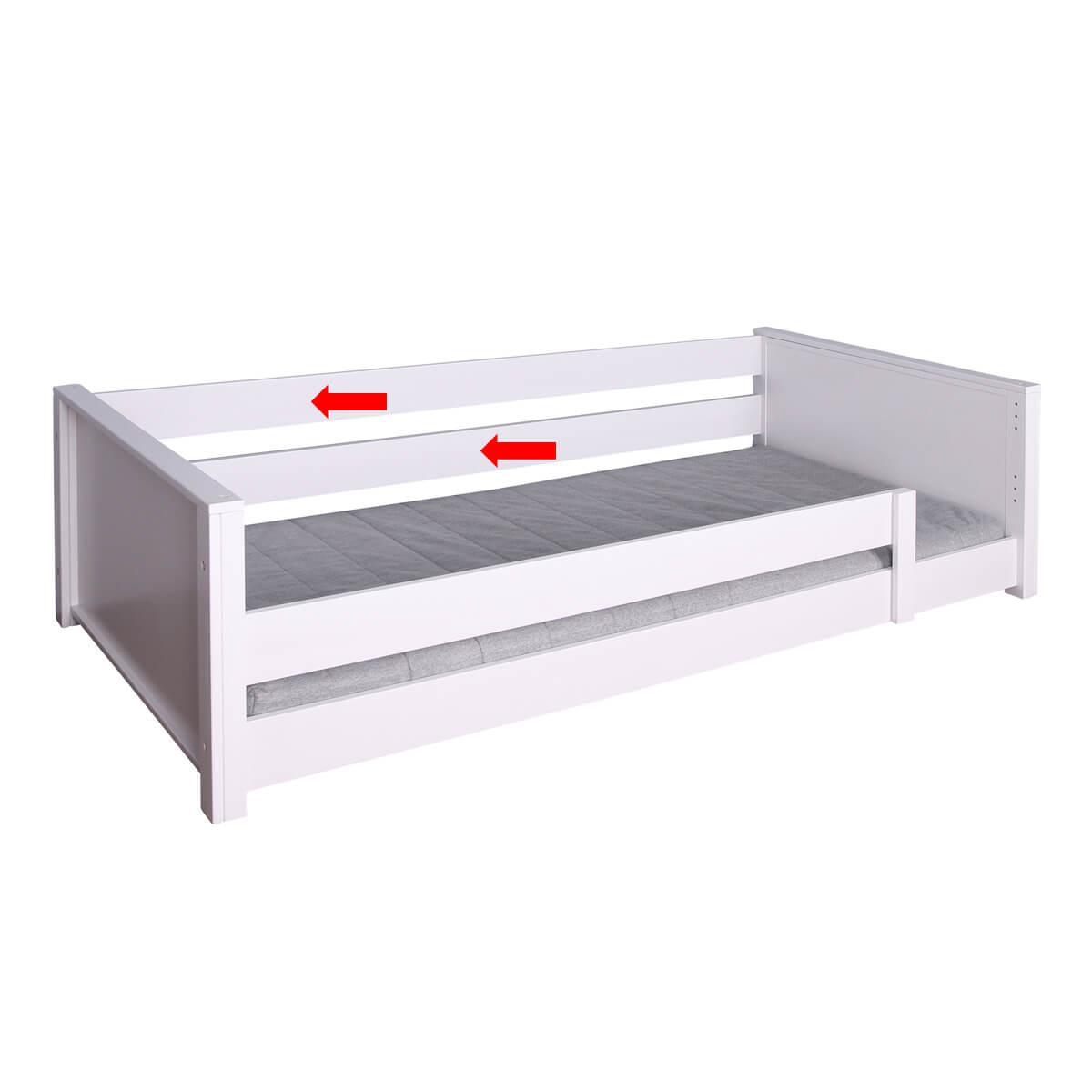 Paket-Rahmenzarge 200 1stk KASVA Debreuyn Buche massiv weiß-lackiert
