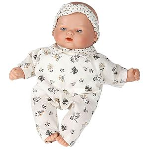 Puppe 26cm FLEURS Barrutoys beige