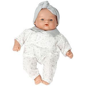 Puppe 26cm STAR Barrutoys grau