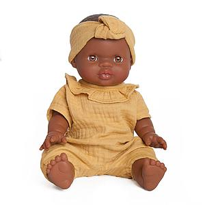 Puppe Noah BOBBLE senfgelb