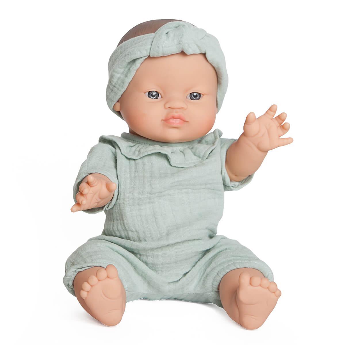 Puppe Paula BOBBLE grün