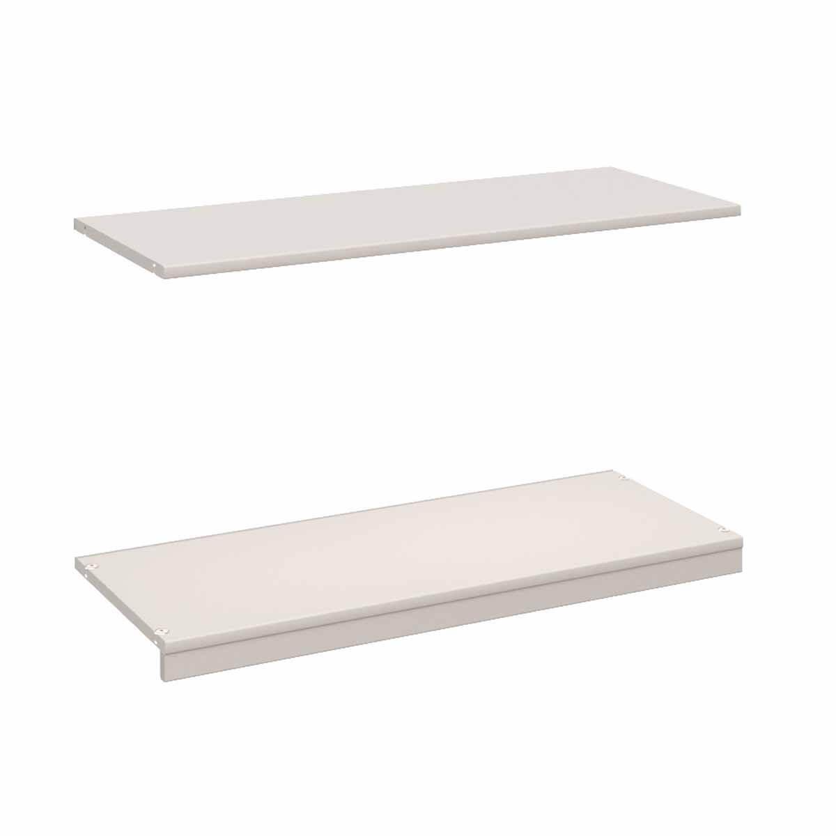 Regal Bauteil Boden-Deckel  KASVA Mdf weiß-lackiert