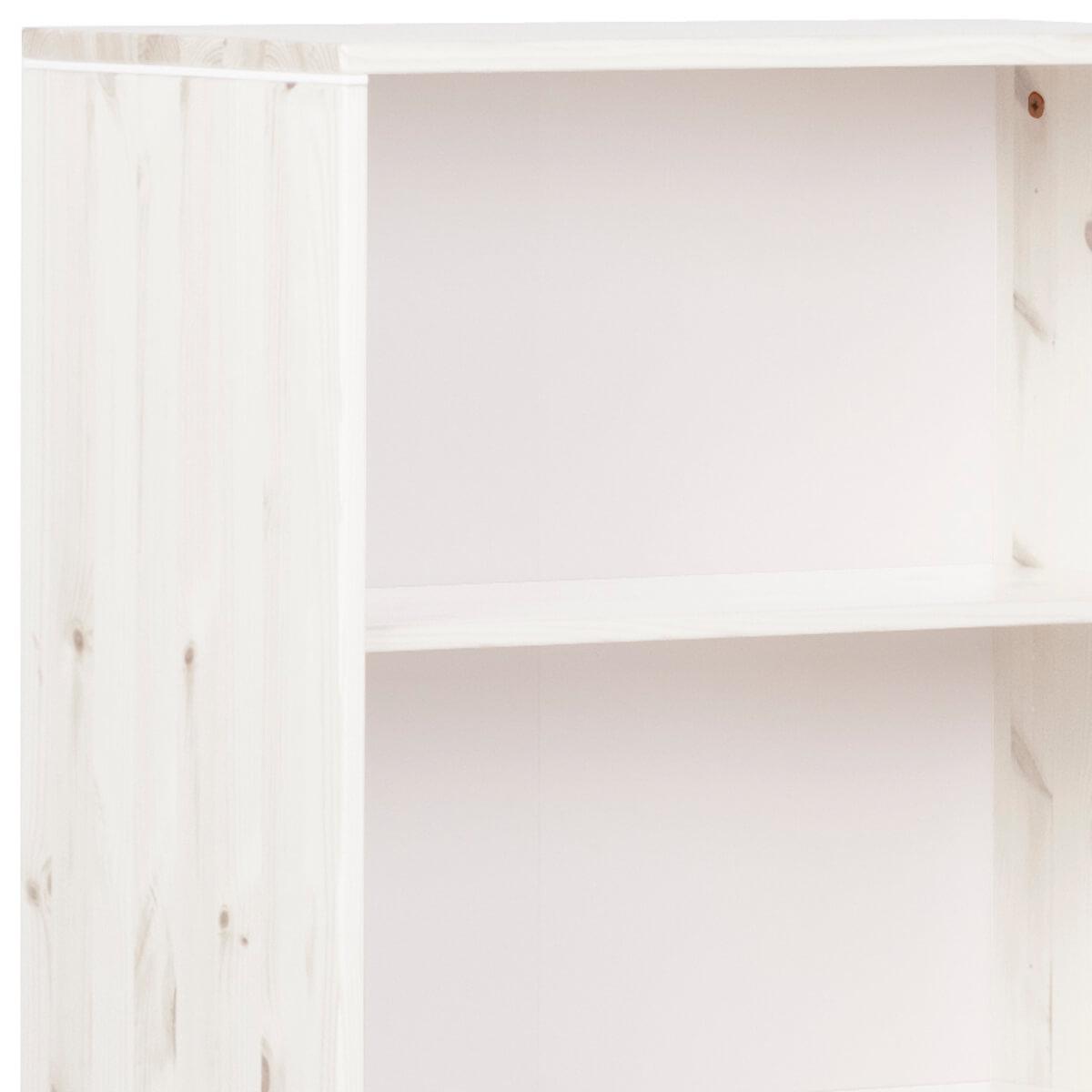Regal mit 3 Böden CLASSIC by Flexa whitewash