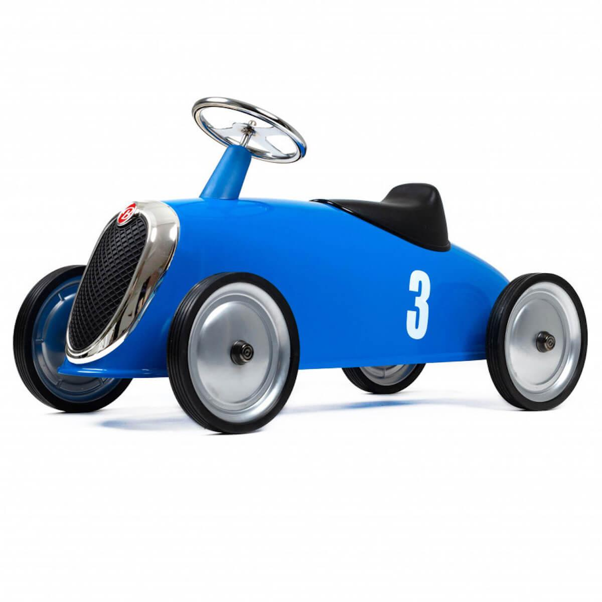 Rutschautos RIDER Baghera blau