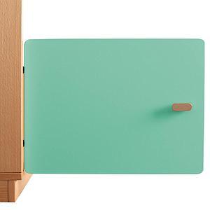 Schranktür 1/5 35cm-Griff DESTYLE Debreuyn  MDF grün-lackiert