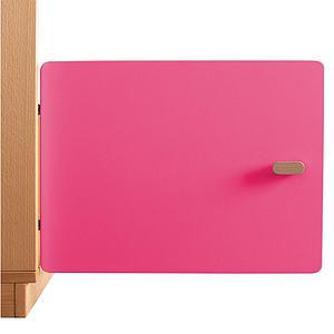 Schranktür 1/5 35cm-Griff DESTYLE Debreuyn  MDF pink-lackiert