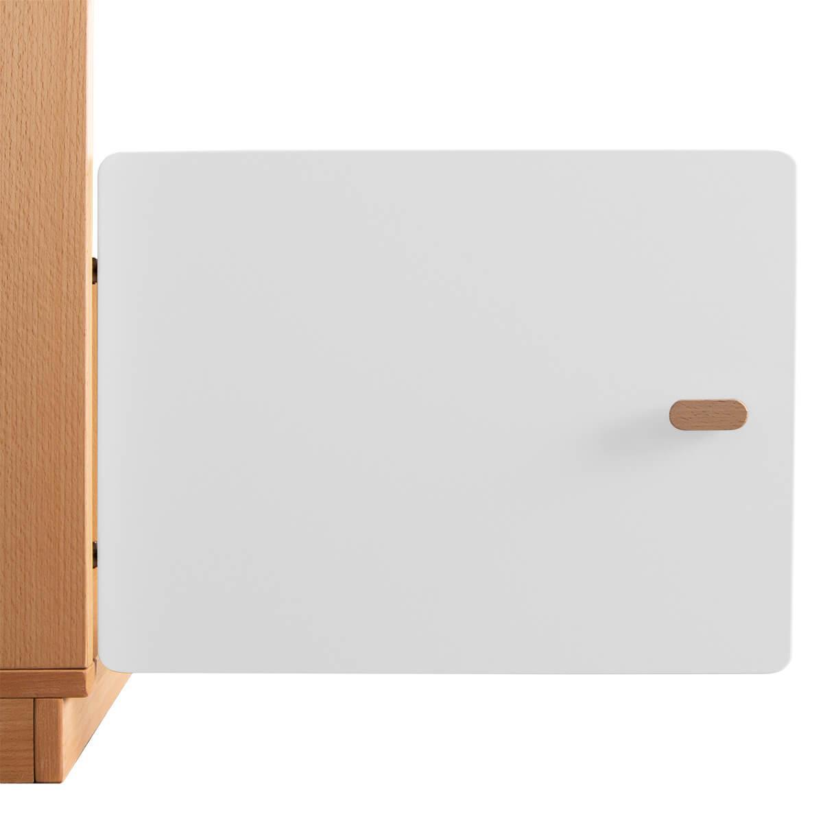 Schranktür 1/5 35cm-Griff DESTYLE Debreuyn  MDF weiß-lackiert